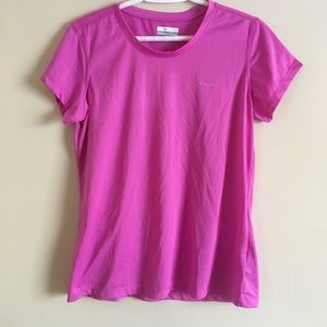 Columbia Women's Size Large Pink T-Shirt